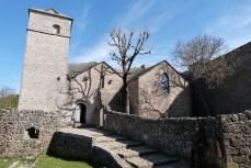 Le four banal et en arrière plan le clocher de l'église
