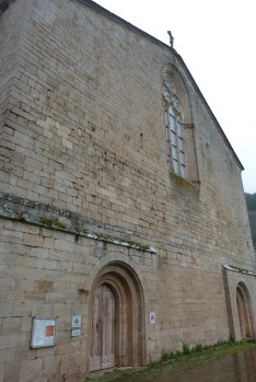 Abbaye de Sylvanès - façade ouest