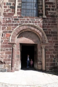 Façade méridionale - portail latéral