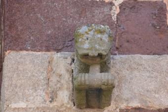 Façade occidentale - motifs sculptés