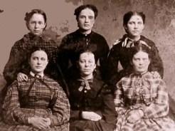 La guerre de Secession de Ken Burns - Groupe de femmes de Charleston