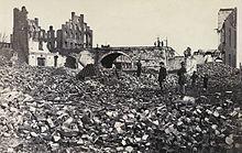 Richmond en ruine en 1865