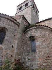 Le clocher et le choeur