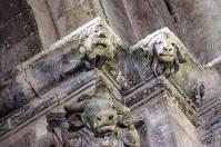 Décoration des chapiteaux - Le taureau symbole de Luc l'évangéliste
