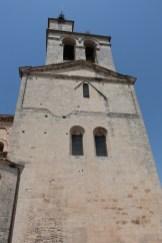 Façade est du transept et clocher