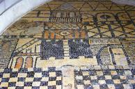 Mosaïque de l'abside en cul-de-four - Jérusalem