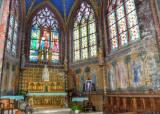 L'abside - peintures