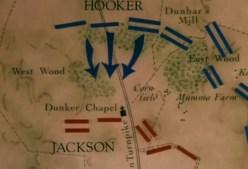 Bataille d'Antietam - première phase