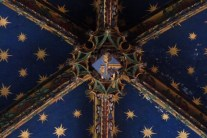 L'abside - clef de voûte