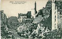 Arras détruite en 1915