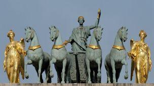 l'arc du Carrousel à Paris