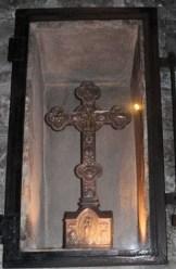 Reliquaire contenant un morceau de la Sainte Croix