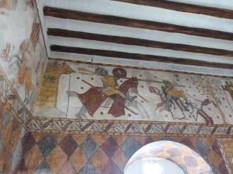 Guillaume d'Orange affronte le géant Isoré - Tour Ferrande à Pernes-les-Fontainess