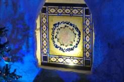 La nef - la chapelle de la Vierge - vitrail