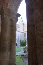 Le clocher vu du cloître