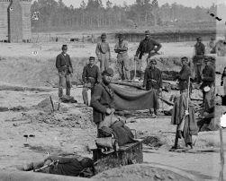 Soldats de l'Union à Seven Pines