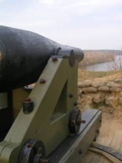 Artillerie lourde de Fort Darling