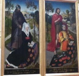 Armoiries de Jean de Chaugy et Guillemette de Montagu