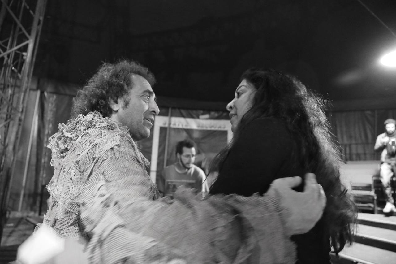 """Avant et Après le spectacle """"Les Oiseaux"""" de Theatre Nomade – galerie photo de Jean Mazel"""