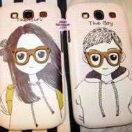 Samsung Galaxy S3 Couple Cases from ShopWithFriends