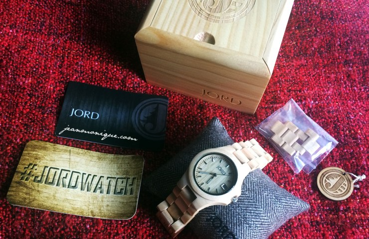 Review: JORD Wood Watch in Ely Maple