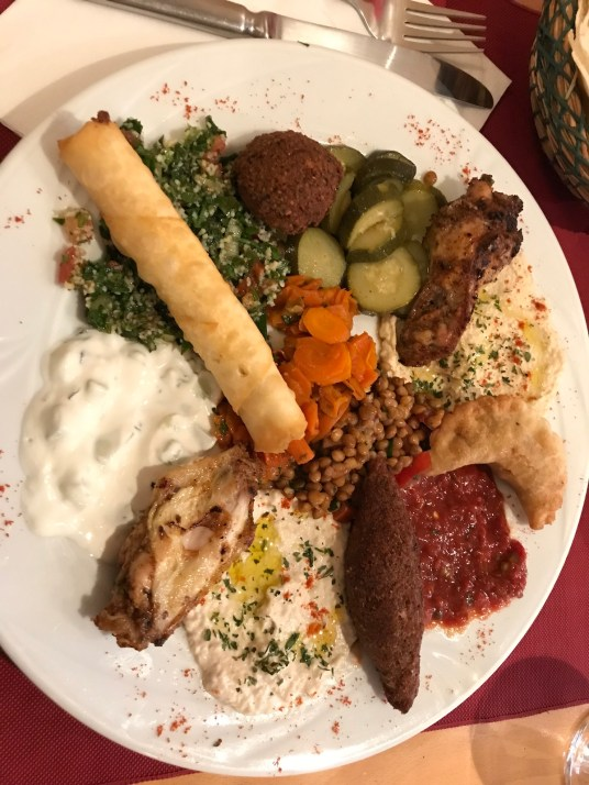 Middle East lunch