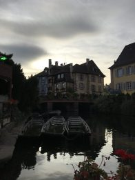 boat in Colmar