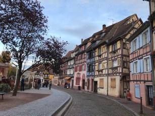 very cute houses in Colmar