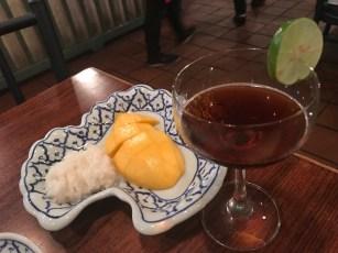Mango sticky rice - Boyoung's recommendation