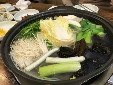 Restaurant - 행복낙지 (연포탕, octopus soup)