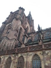 Cathedral Strasbourg is very nice.