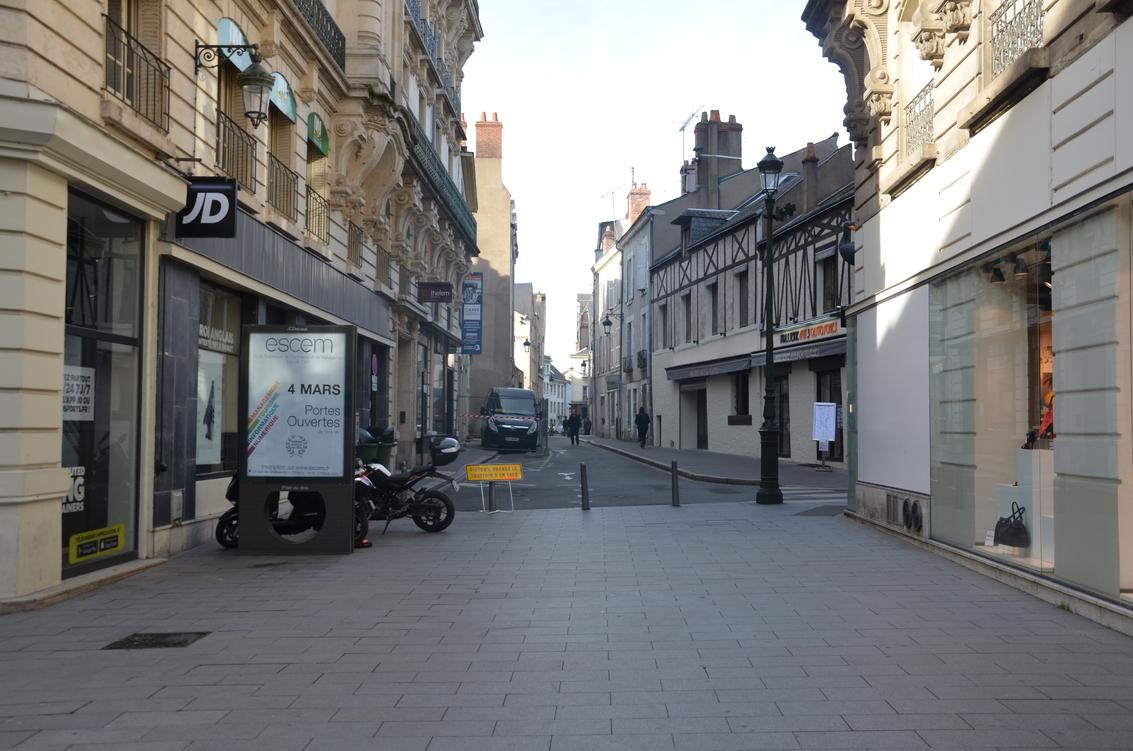 rue des Fauchets depuis rue de la République