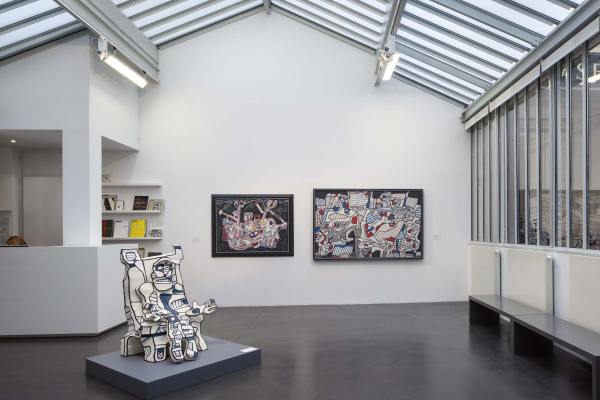 Ronique Jaeger Jeanne Bucher - Galerie 'art Paris