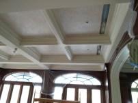 Metallic Venitian plaster ceiling