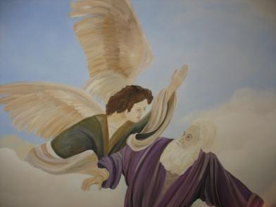 Sky mural