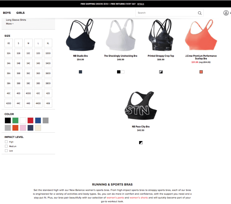 On-Page SEO Bras