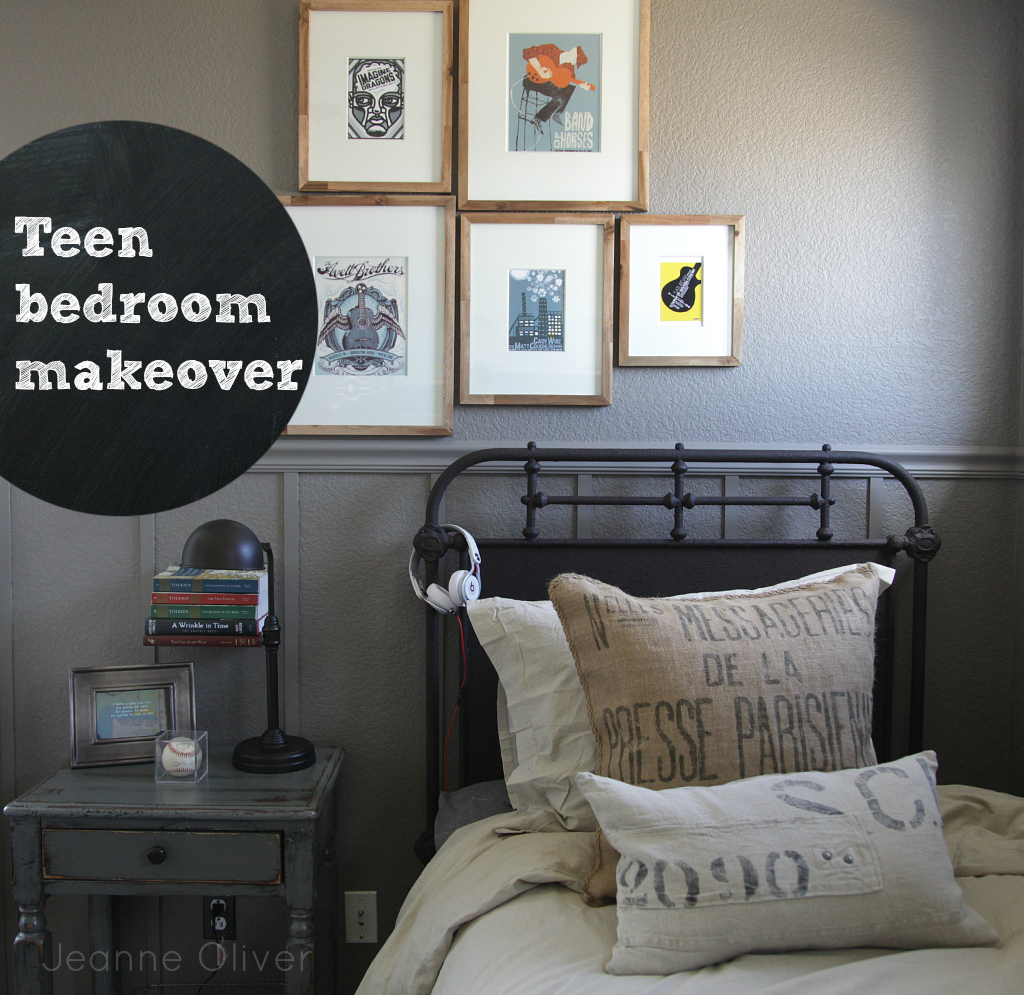 Teen Boy Bedroom Makeover Before And After Jeanne Oliver