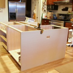 How To Build A Kitchen Island With Cabinets Towel Hanger Ikea Hack We Built Our Jeanne Oliver