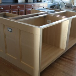 How To Build A Kitchen Island With Cabinets Forged Knives Ikea Hack We Built Our Jeanne Oliver