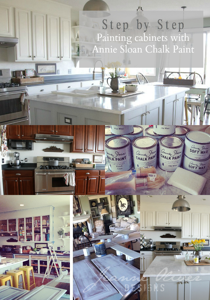 Step By Step Kitchen Cabinet Painting With Annie Sloan Chalk Paint