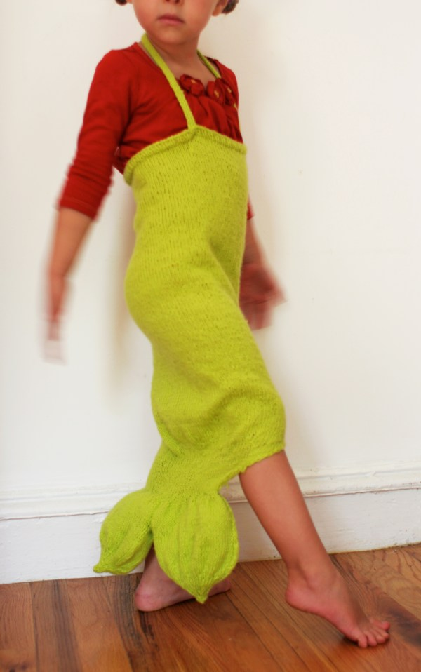 Diy Knitted Mermaid Costume Domesticspace