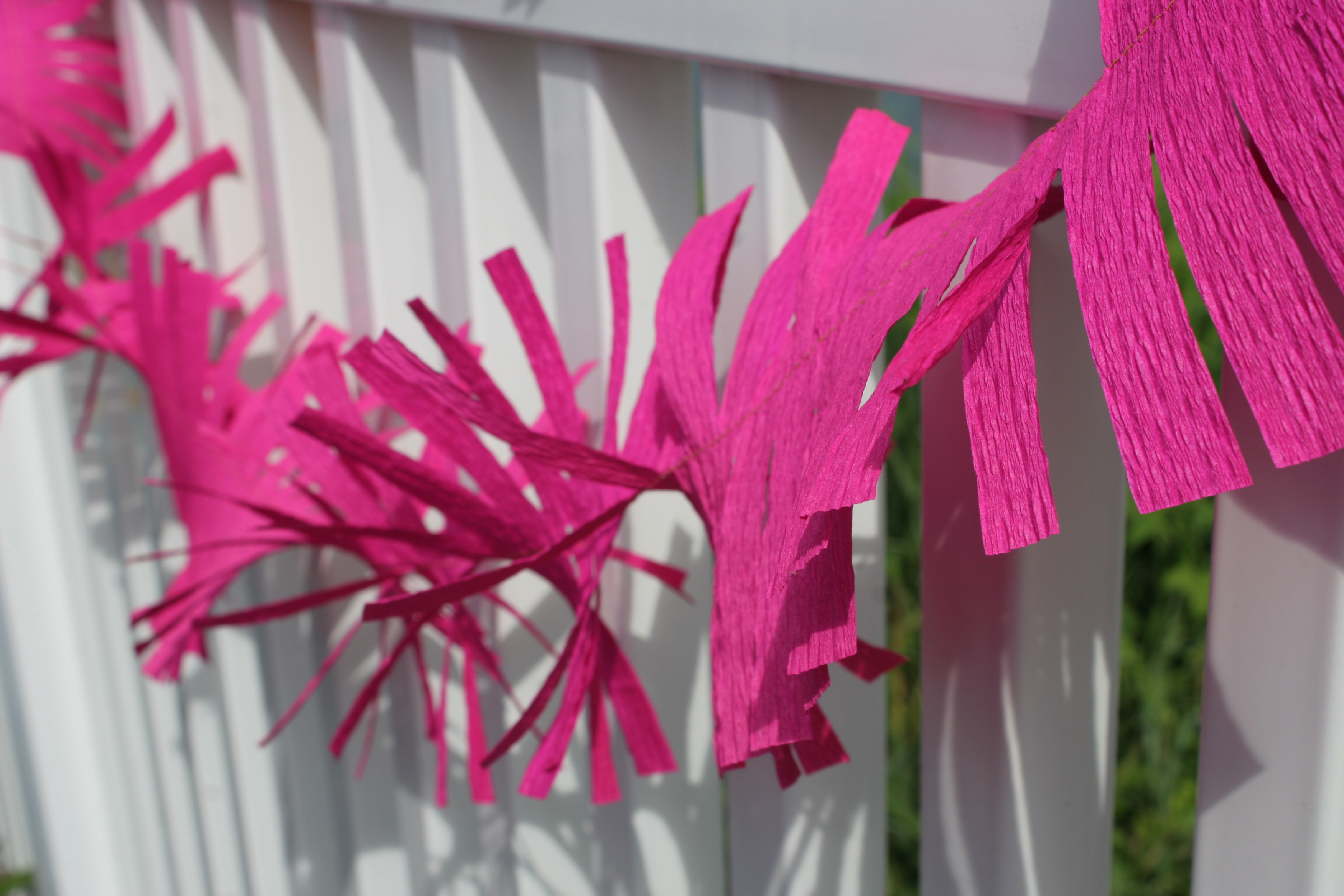 Crepe Paper Decorations Domesticspace