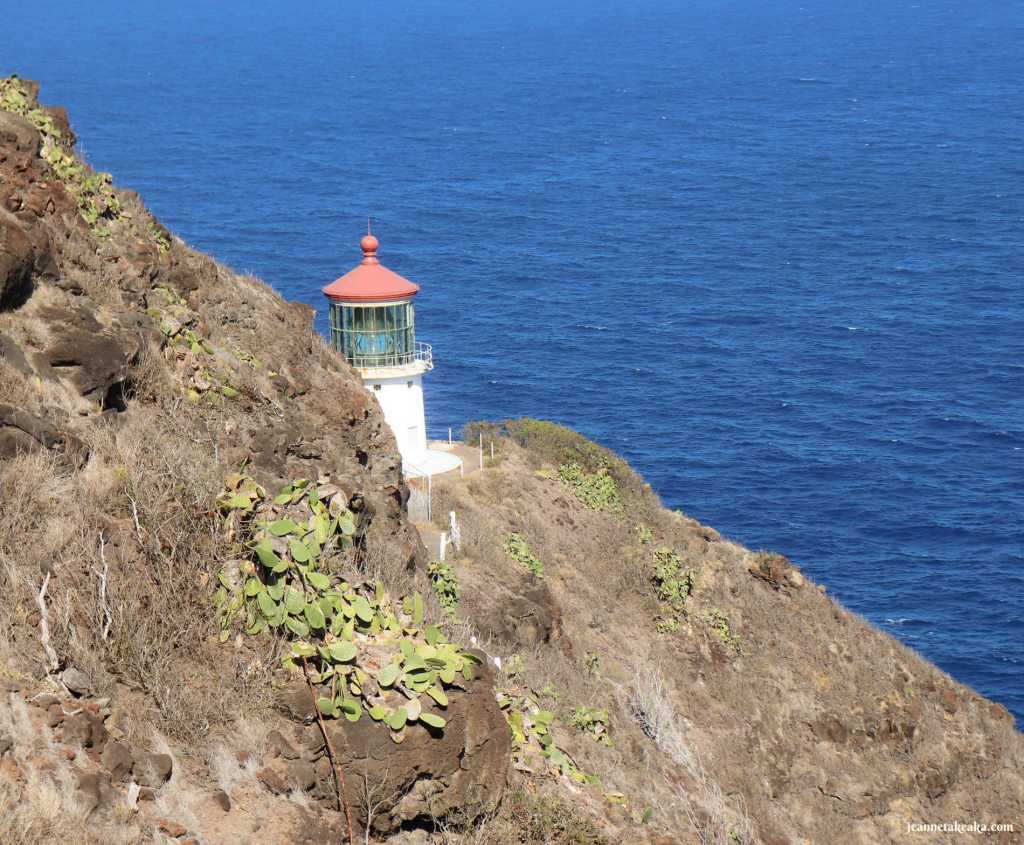 A lighthouse reminding us that God's light can help us learn how to focus on His truths