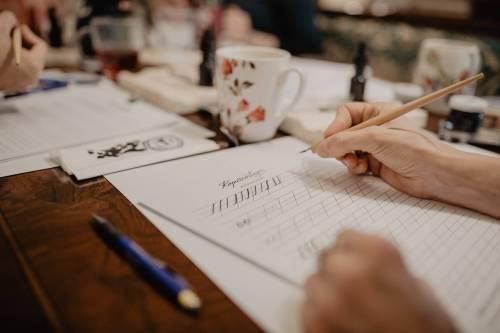 Workshop Moderne Kalligrafie