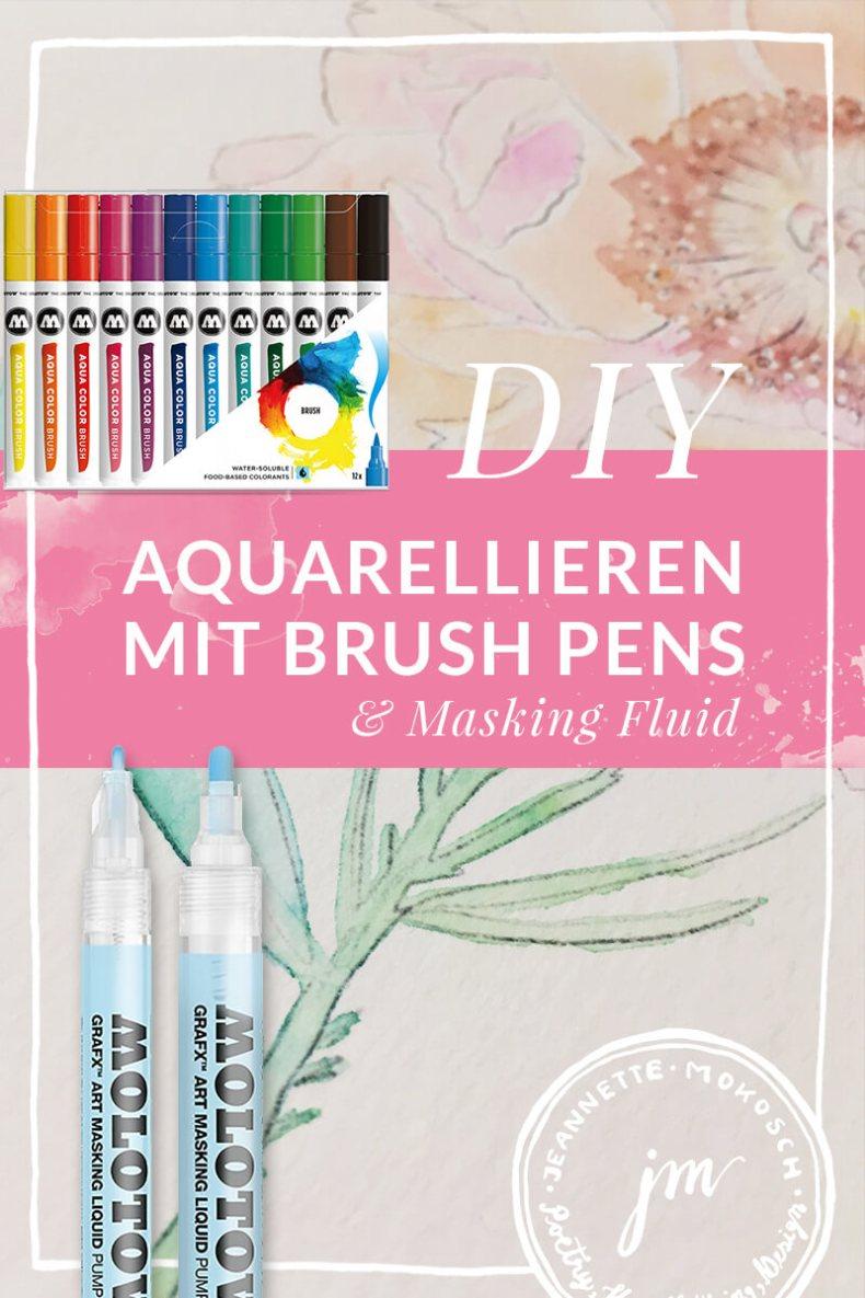 Brush pen Hand lettering Kalligrafie illustration floral peonie blush skizze doodle art Pfingsrose Bleistift Molotow Schneider fine art calligraphy