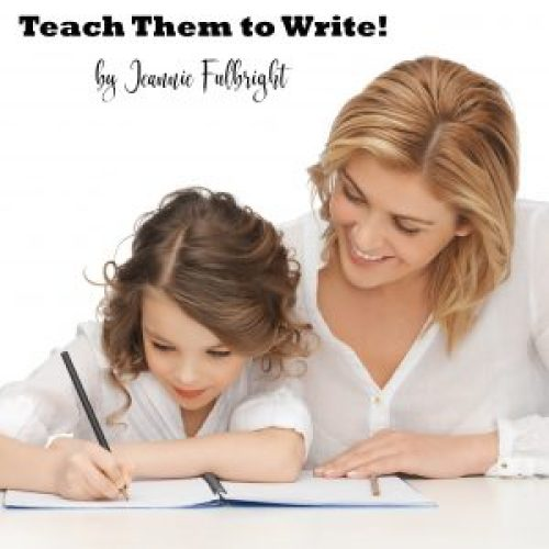Teach Them to Write