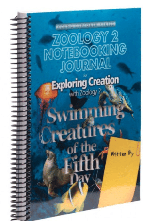 Zoology: Swimming Creatures - Journal Image