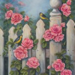 Finches and Roses by Jeannie House