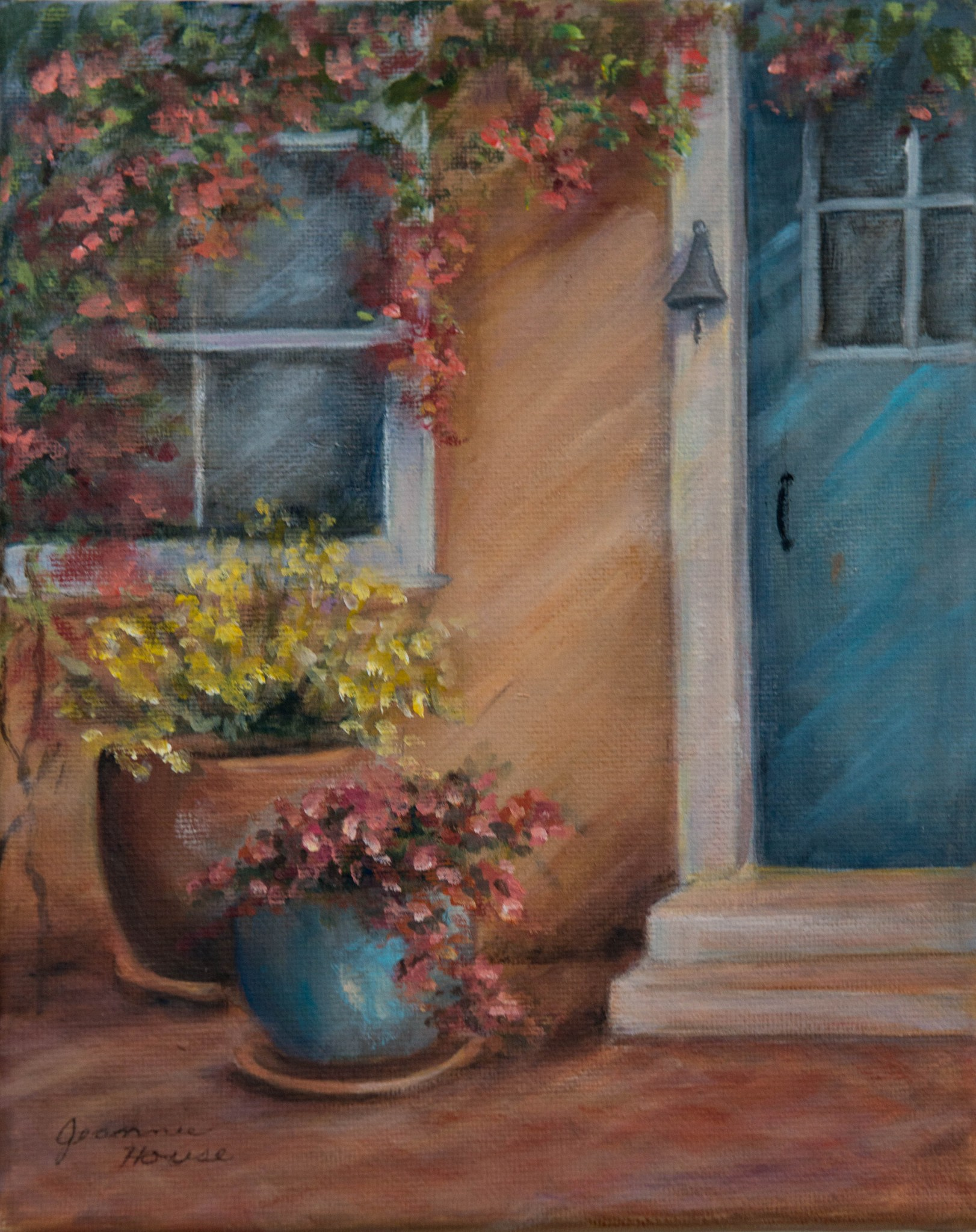 The Blue Door by Jeannie House