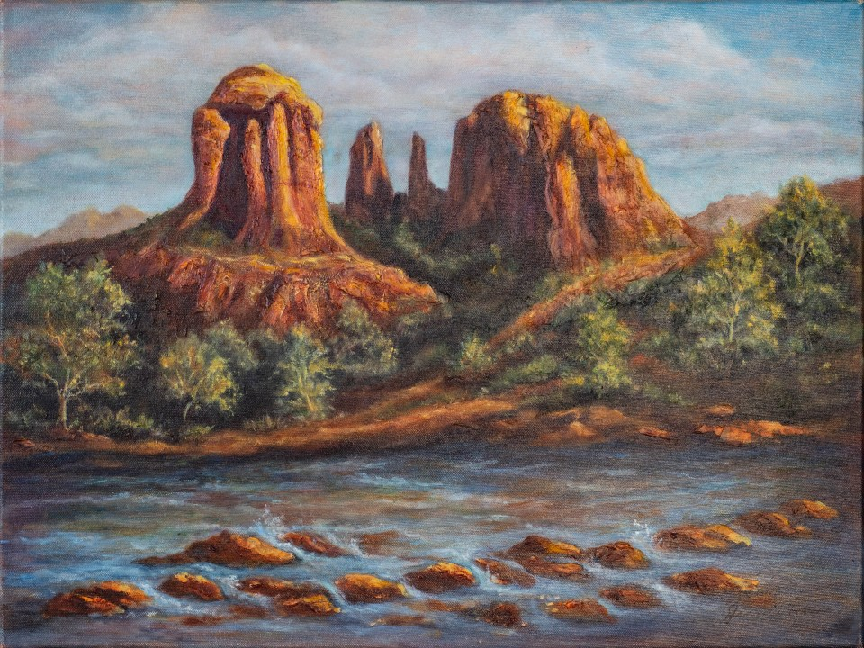 Red Rock Canyon by Jeannie House